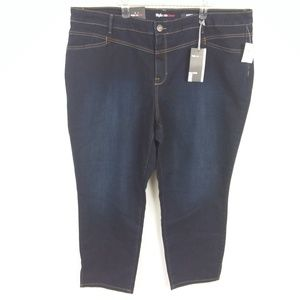 Style & Co Jeans Ankle Mid Rise Retro Fresh NWT -1